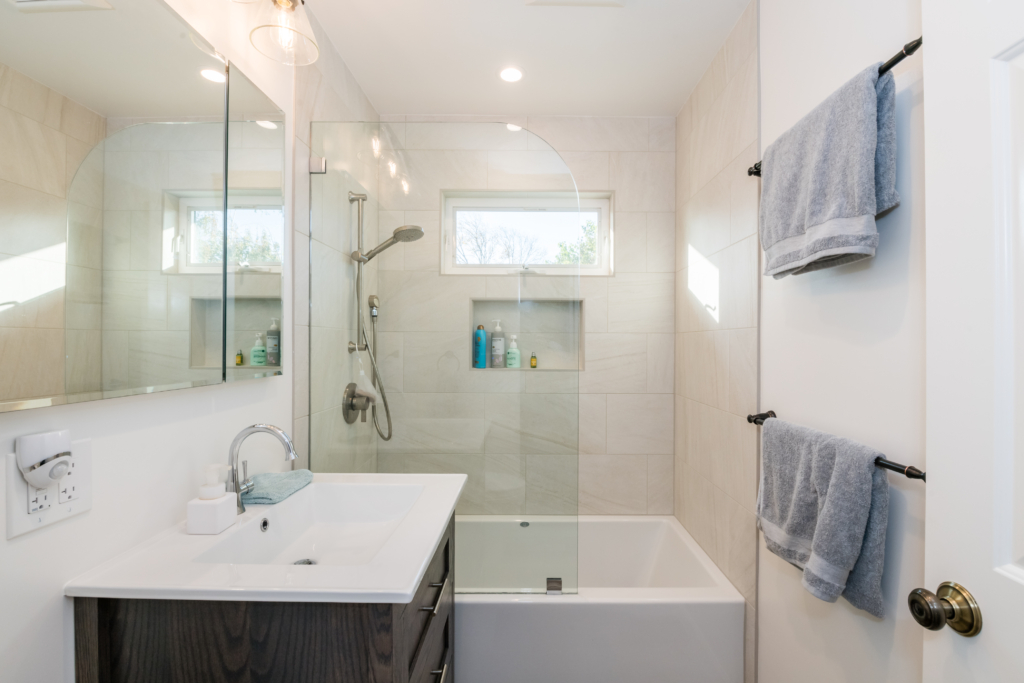 Before & After: Flawless Bathroom Remodel