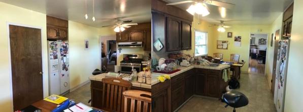 Santa Clara ranch kitchen before