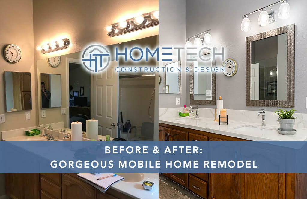 Gorgeous Mobile Home Bathroom Remodel
